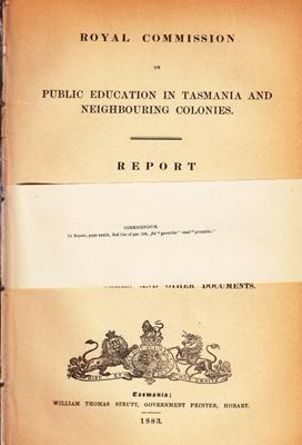 Report of the Commissioners, with Evidence Taken and Other Documents.: ROYAL COMMISSION ON PUBLIC ...