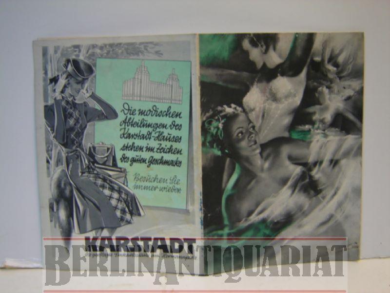 Frauen im Metropol. Große Ausstattungs-Operette in 10: Metropol-Theater (Hg.).-Hentschke, Heinz: