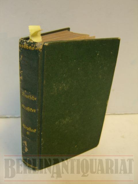 Miniatur-Bibliothek der Deutschen Classiker. Klopstocks Messias. 7,8