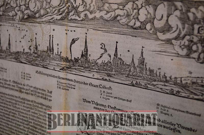 Die Statt Lübeck, eine auß den fürnemsten Stetten am Meere gelegen….: Lübeck. ...
