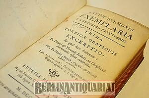 Latini sermonis exemplaria e scriptoribus probatissimis. Prima poeticae orationis exerptio.