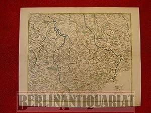 Marquisat de Misnie, premiere Province de la Saxe. À Paris chez le Sr. le Rouge, Ingenieur ...
