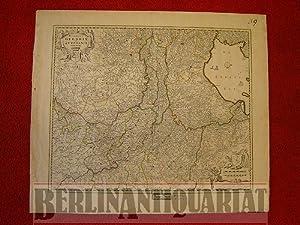 Ducatus Geldriae et Zutphaniae Comitatus per Niculaum Visscher [ ]: Holland:
