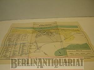 Karte des Ostseebades Zinnowitz [auf Usedom]. Neu ergänzt und gezeichnet von Edm. Schaller. Ma...
