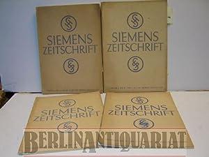 Siemens Zeitschrift. Verschiedene Ausgaben. 5/6, 1929 + Nr 1, 1930 + Nr. 4 1931 + Nr 11, 1931....