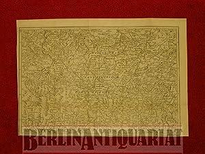 Kupferstichkarte der Region um Landeshut, gestochen von J. Gibson.: Schlesien: