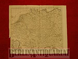 A Compleat Map of Germany comprehending in one View the different Seats of the Present War.: ...