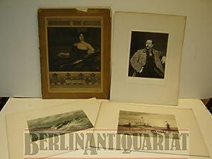 Internationale Kunst- Ausstellung Berlin 1896. Lieferung 1. VOLLSTÄNDIG. Begleitet von Ludwig ...