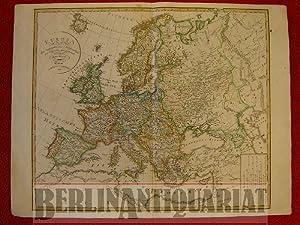 Europa nach den vorzüglichsten Hülfsmitteln neu entworfen und gezeichnet von Ferd. G&ouml...