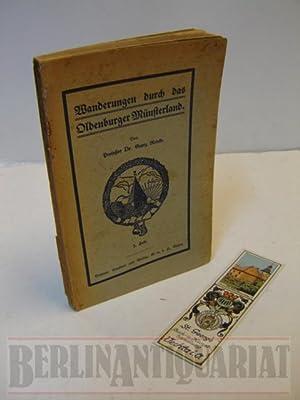 Wanderungen durch das Oldenburger Münsterland. 3. Heft: Lohne (Stadt und Land), Dinklage, ...