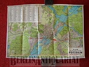 Die Stadt Friedrichs des Grossen. Plan der Residenzstadt Potsdam. Maßstab 1:20000.: ...