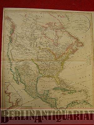 Charte von Nordamerica. Entworfen und gezeichnet von C. G. Reichard. Ergänzt und nach den ...
