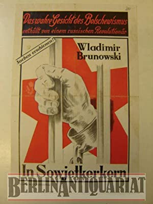 WERBUNG! In Sowjetkerkern.: Brunowski, Wladimir: