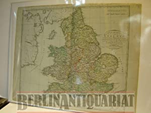 Charte von England. Nach den besten Hülfsmitteln und neuesten Ortsbestimmungen entworfen und ...