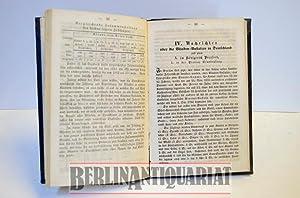 Jahresschrift. Über das Blindenwesen im Allgemeinen wie über die Blinden-Anstalten ...