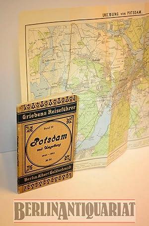 Potsdam und Umgebungen. Praktischer Wegweiser. Mit zwei Karten.: Fellenberg, O. (Bearb.):