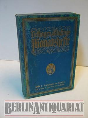 Monatshefte. Heft 1 - 4 (September bis Dezember).: Velhagen und Klasing: