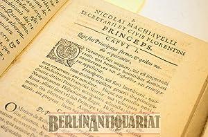 Princeps. Aliaque nonnulla ex Italico Latine nunc demum partim uersa, partim infinitis locis sensus...