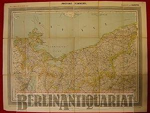 Provinz Pommern. Maßstab: 1: 520.000.: Handtke, F. (Bearb.):