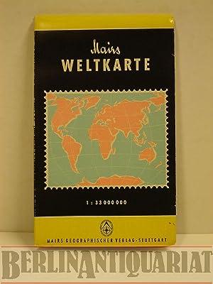 Mairs Weltkarte. Politisch-physikalische Ausgabe.: Mair, Kurt: