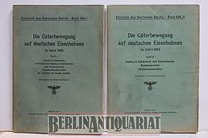 Die Güterbewegung auf deutschen Eisenbahnen im Jahre 1936.: Statistisches Reichsamt: