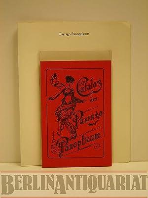 Illustrirter [illustrierter] Catalog [Katalog] des Passage-Panopticums, Berlin,