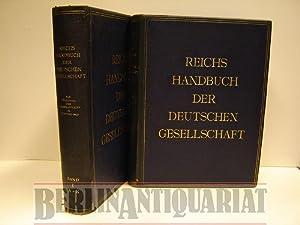 Reichshandbuch der deutschen Gesellschaft. Das Handbuch der Persönlichkeiten in Wort und Bild.