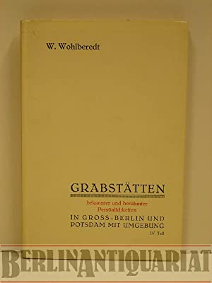 Verzeichnis der Grabstätten bekannter und berühmter Persönlichkeiten in Groß-...