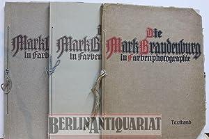 Die Mark Brandenburg in Farbenphotographie. Textband mit: Goerke, Franz Hg.: