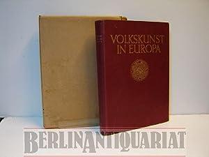 Volkskunst in Europa.: Bossert, H. Th.: