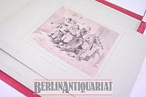 Spießbürger und Vagabonden. Eine zwanglose Gesellschaft in 25 Original-Zeichnungen.: ...
