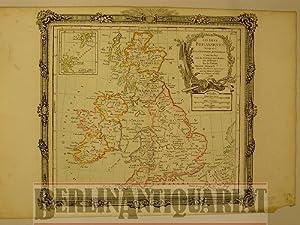 Großbritannien [England]. Les Isles Britanniques. combinées avec les Itiné...