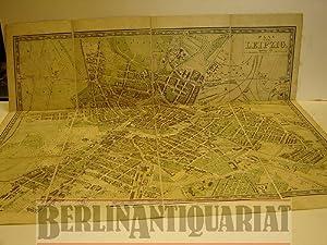 Plan von Leipzig. Maaßstab 1 : 7000. Gezeichnet von E. Blumenau, lithographiert von G. Busch....