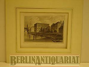 Die Bauschule in Berlin Stahlstich von F. Hablitscheck nach C. Würbs.: Berlin.-
