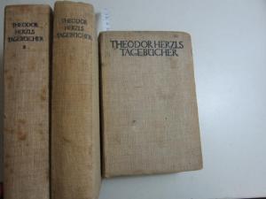 Theodor Herzls Tagebücher 1895 - 1904. Band: Theodor Herzl