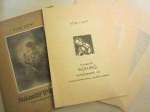Sulamith Wülfing: Vom Licht. Kartenmappe VIII. (8): Sulamith Wülfing