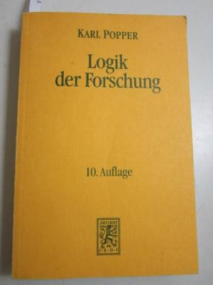Logik Der Forschung B 3 | Download eBook PDF/EPUB