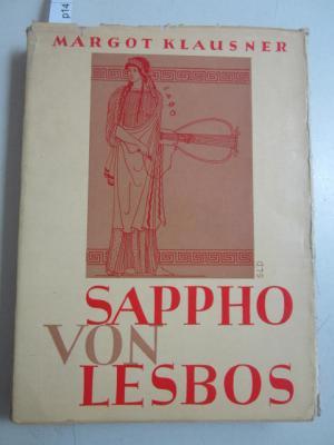 """Sappho von Lesbos. Serie """"Transmare-Bücher"""".: Margot Klausner"""