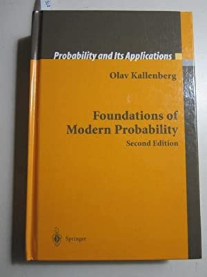 Foundations of Modern Probability: Kallenberg, Olav