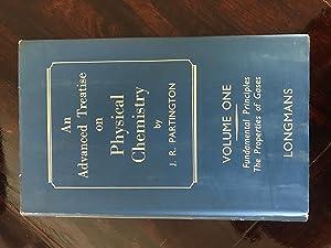An Advanced Treatise on Physical Chemistry. Volume: J. R. Partington