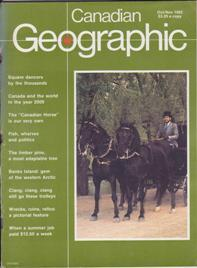 Canadian Geographic: October/November 1982, Volume 102, Number: Canadian Geographic (ed.