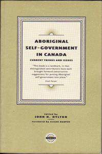 aboriginal self government in canada essay Literacy proficiency in the context of canada's aboriginal peoples  the inherent  right of self-government as an existing aboriginal right under.