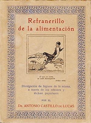 REFRANERILLO DE LA ALIMENTACIÓN, divulgación de higiene: CASTILLO DE LUCAS,