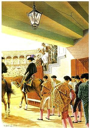 LOS TOROS Y SU MUNDO: ALBENDEA, Juan Manuel; SOLÍS, Pedro Romero de; GARCÍA BAQUERO, Antonio; ...
