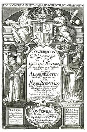 Conservación de Monarquias y discvrsos politicos sobre: Fernández Navarrete, Pedro