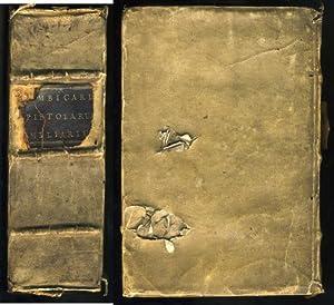 Epistolarum familiarium libri VI. eiusdem, Leonis X.: BEMBO (Pietro).