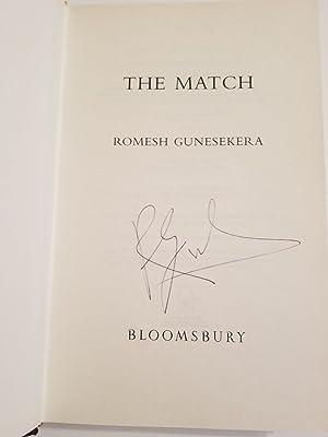 THE MATCH A Novel: Gunesekera, Romesh