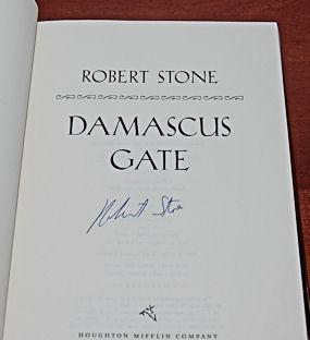 DAMASCUS GATE: Stone, Robert