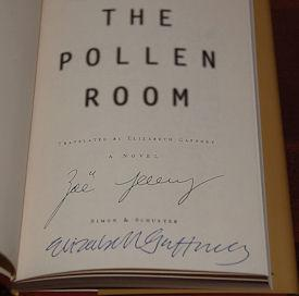 THE POLLEN ROOM A Novel: Jenny, Zoe