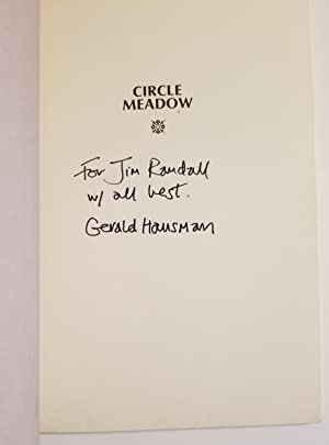 CIRCLE MEADOW Poems: Hausman, Gerald